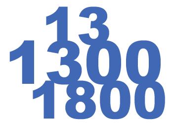 Inbound 1300 Numbers